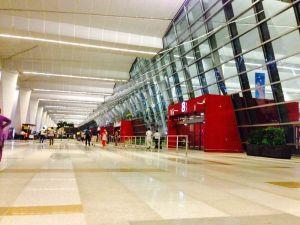 Arrive New Delhi airport